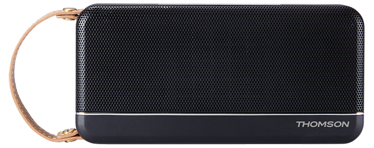 Enceinte sans fil portable Thomson (noir mat) - Packshot