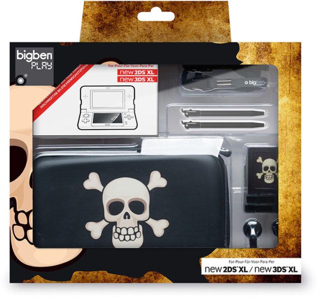 Pack «essential» pour console Nintendo New 2DS™ XL/ Nintendo New 3DS™ XL (édition limitée «pirate») – Visuel