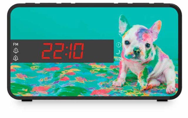 Radio réveil double alarme (animaux) – Visuel#2tutu#3