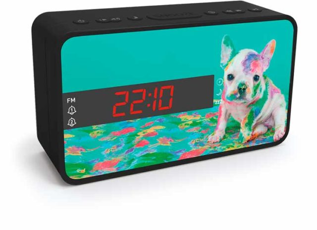 Radio réveil double alarme (animaux) – Visuel#2tutu#4tutu