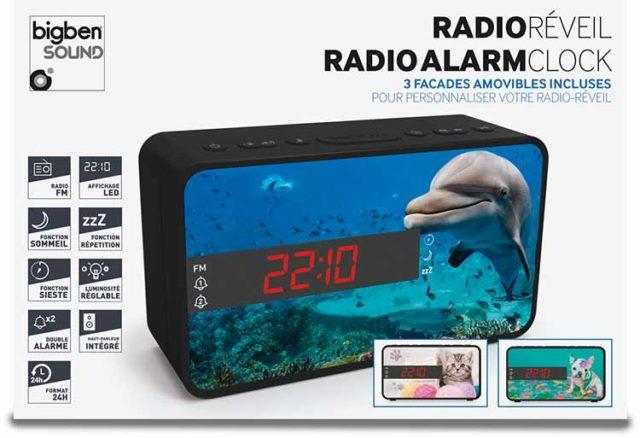 Radio réveil double alarme (animaux) – Visuel#2tutu#4tutu#5