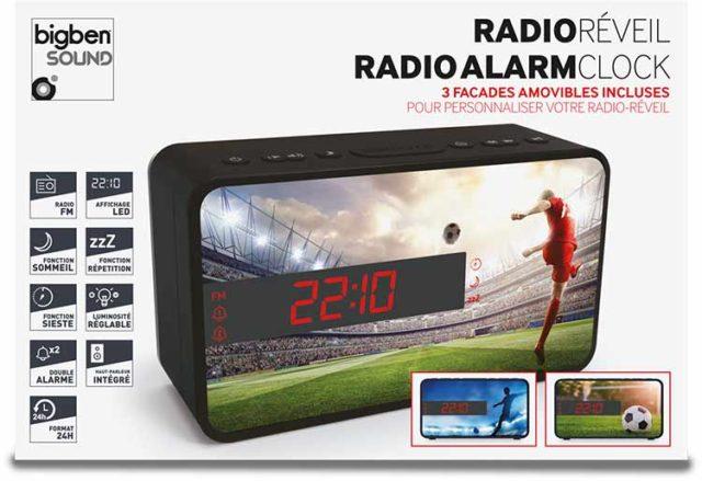 Radio réveil double alarme (foot) – Visuel#2tutu#4tutu#5