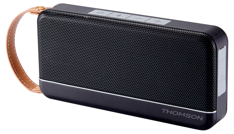 Enceinte sans fil portable Thomson (noir mat) - Visuel