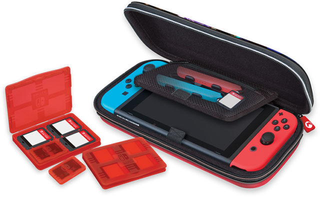 Pochette de transport deluxe officielle «Mario kart 8» – Packshot