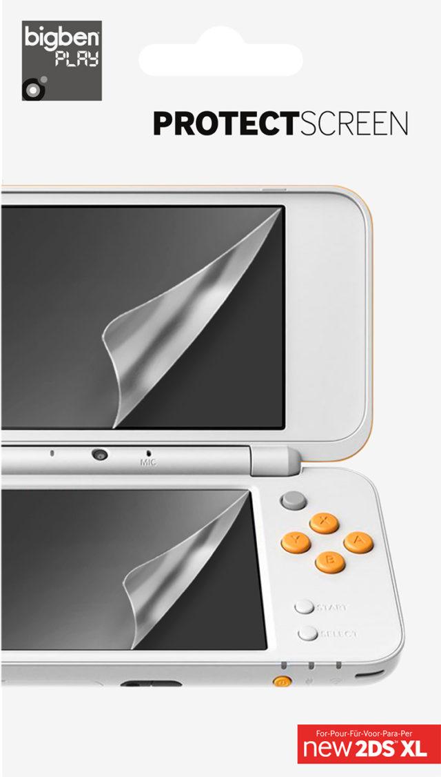 Films de protection pour écrans de la Nintendo NEW 2DS™ XL – Visuel
