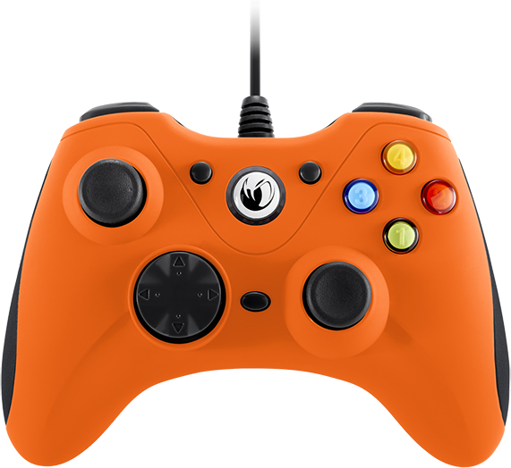 Manette de jeu PC (Orange) - Packshot
