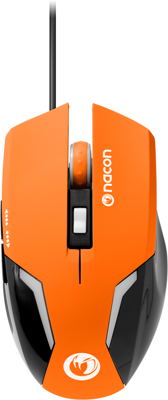 Souris optique Nacon (Orange) - Packshot
