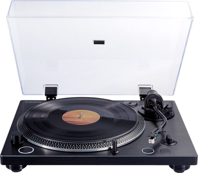 Tourne-disques professionel à entraînement direct THOMSON TT600BT - Packshot