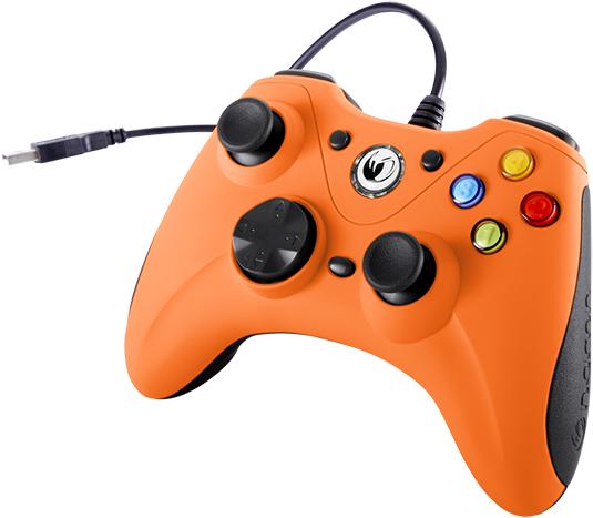Manette de jeu PC (Orange) – Visuel