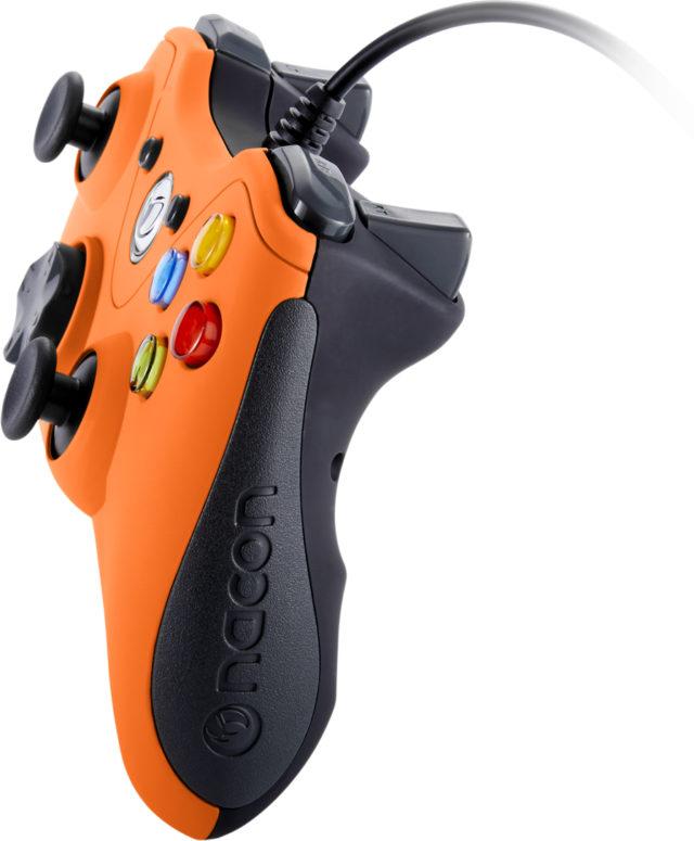 Manette de jeu PC (Orange) – Visuel#1