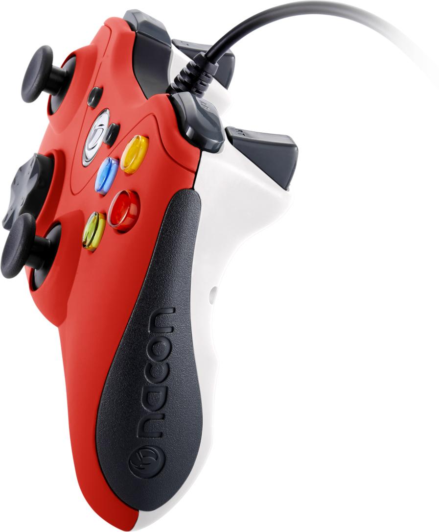 Manette de jeu PC (Rouge) - Visuel#1