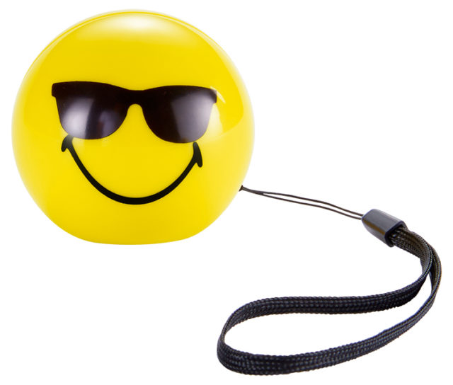Enceinte sans fil portable (cool) BT15SMILEYCOOL Smiley® - Packshot