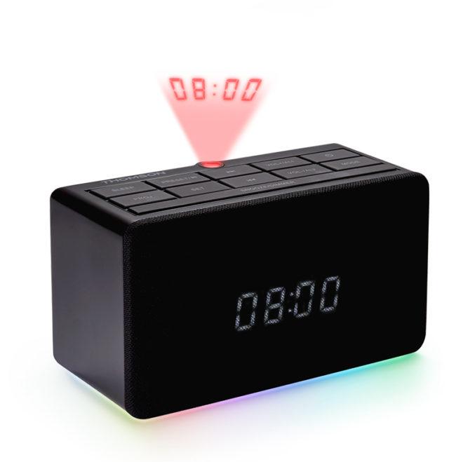 Radio réveil avec projecteur CL300P THOMSON - Packshot