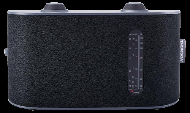 Radio portable 4 bandes (noir) RT250 THOMSON - Packshot