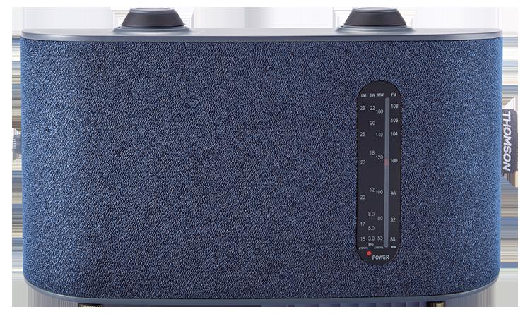 Radio portable 4 bandes (bleu) RT250 THOMSON - Packshot