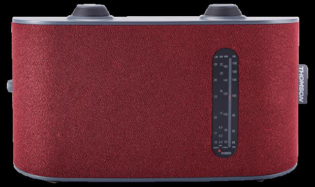 Radio portable 4 bandes (rouge) RT250 THOMSON - Packshot