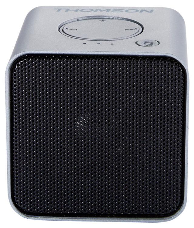 Enceinte sans fil portable (gris métalisé) WS01GM THOMSON - Packshot