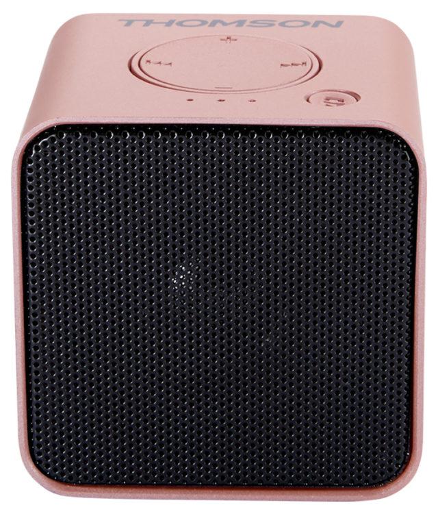 Enceinte sans fil portable (rose métalisé) WS01GM THOMSON - Packshot