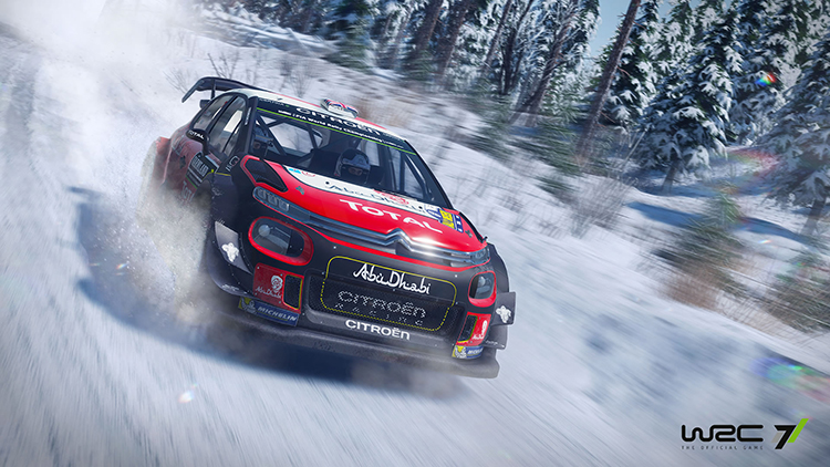 WRC 7 – Capture d'écran