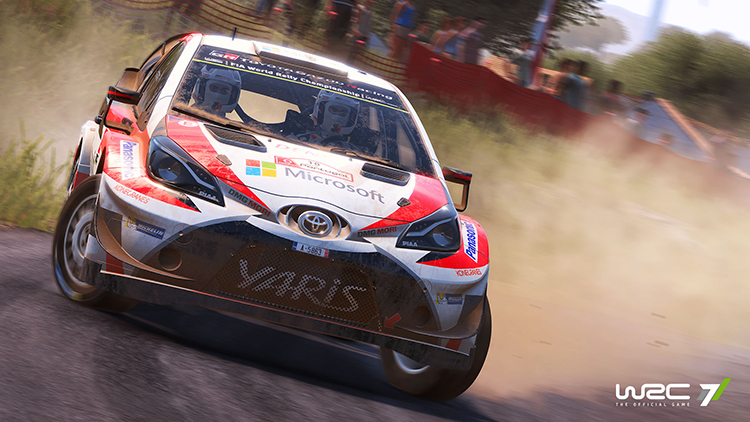 WRC 7 - Capture d'écran