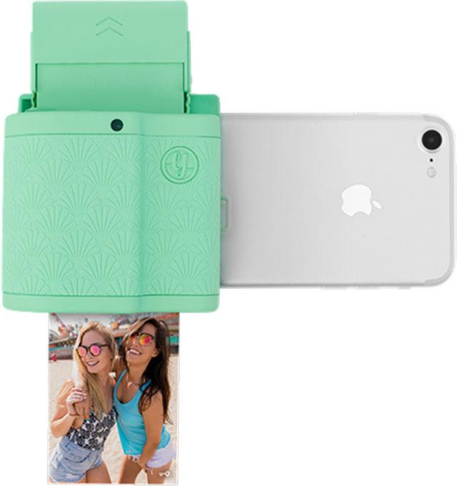 Imprimante de poche connectique ligthning (vert) PRYPKTIPMEN PRYNT – Visuel