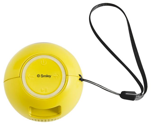 Enceinte sans fil portable (cool) BT15SMILEYCOOL Smiley® – Visuel#1