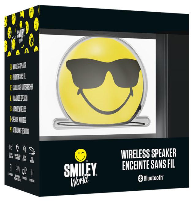 Enceinte sans fil portable (cool) BT15SMILEYCOOL Smiley® – Visuel#2tutu