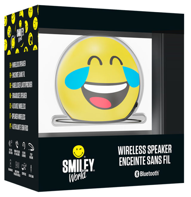 Enceinte sans fil portable (lol) BT15SMILEYLOL Smiley® – Visuel#2tutu