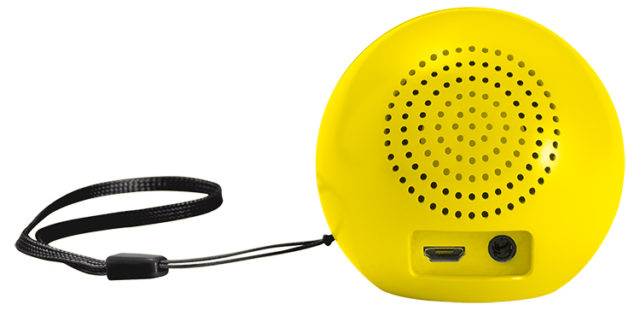 Enceinte sans fil portable (wink) BT15SMILEYWINK Smiley® – Visuel