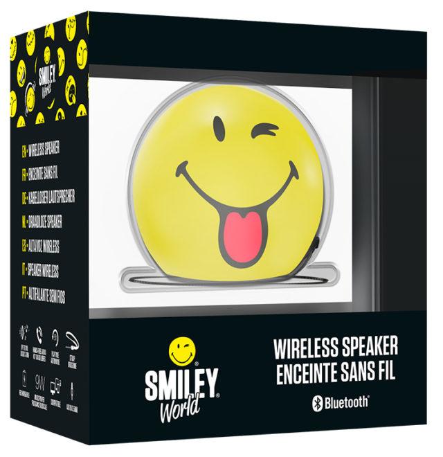 Enceinte sans fil portable (wink) BT15SMILEYWINK Smiley® – Visuel#2tutu