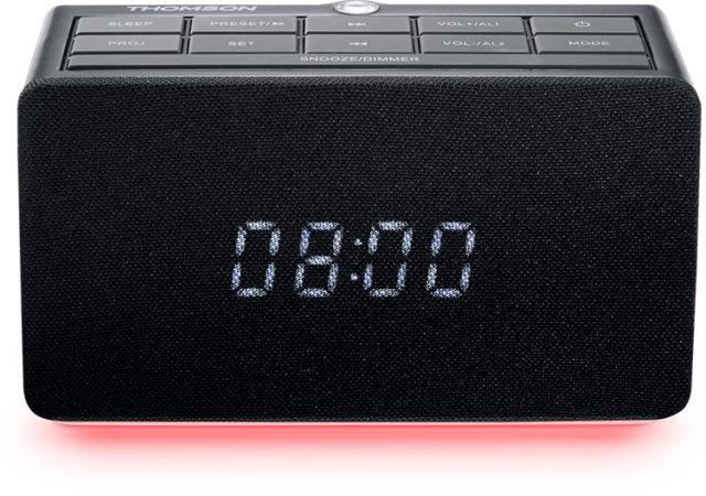 radio r veil avec projecteur cl300p thomson bigben fr sound accessoires gaming mobile. Black Bedroom Furniture Sets. Home Design Ideas