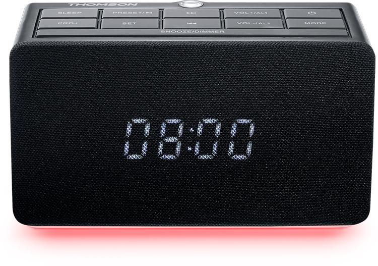 Radio réveil avec projecteur CL300P THOMSON - Visuel#1