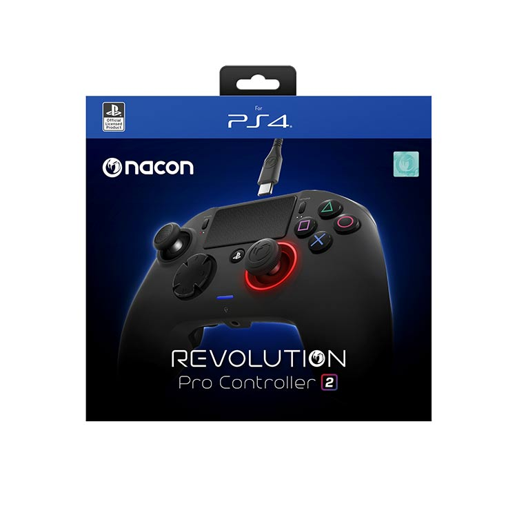 Manette Revolution Pro Controller 2 sous licence officielle PlayStation® 4 PS4OFPADREV2FRNL NACON - Visuel