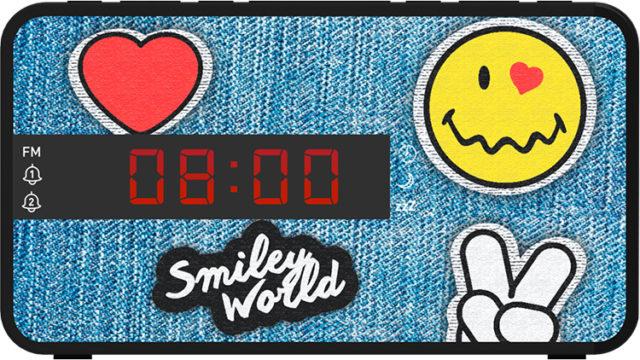 Radio réveil doucle alarme RR16SMILEY Smiley© – Visuel#1