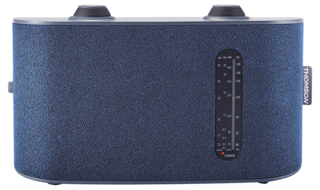 Radio portable 4 bandes (bleu) RT250 THOMSON – Visuel