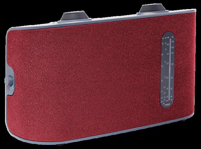 Radio portable 4 bandes (rouge) RT250 THOMSON – Visuel