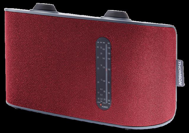 Radio portable 4 bandes (rouge) RT250 THOMSON – Visuel#1