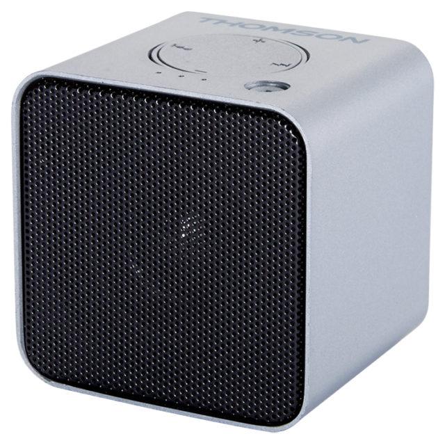 Enceinte sans fil portable (gris métalisé) WS01GM THOMSON – Visuel