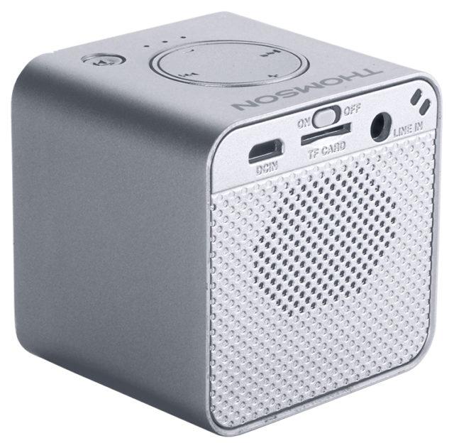 Enceinte sans fil portable (gris métalisé) WS01GM THOMSON – Visuel#1