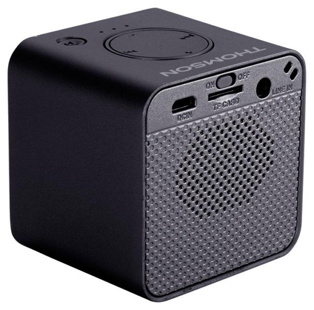 Enceinte sans fil portable (noir métalisé) WS01NM THOMSON – Visuel#1