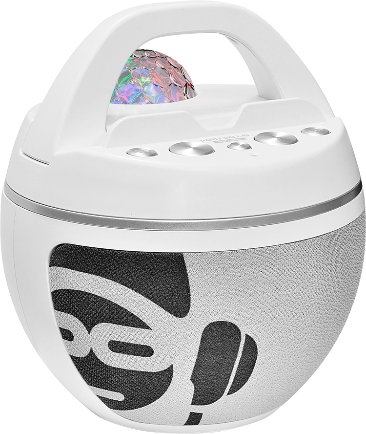 Système bluetooth avec effet disco lumineux BB10WH I DANCE - Packshot