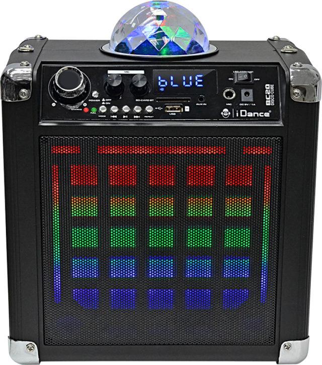 Système Bluetooth karaoke avec effet disco lumineux BC20 I DANCE - Packshot