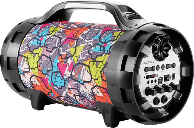 Enceinte portable lumineuse Ghetto Blaster BT50GRAFF BIGBEN - Packshot