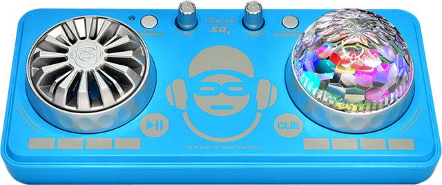 Platine de mixage avec effets lumineux XD1BL I DANCE – Packshot