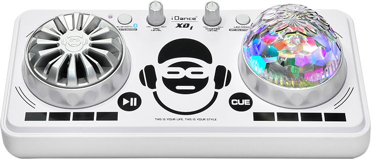 platine de mixage avec effets lumineux xd1wh idance bigben fr sound accessoires gaming. Black Bedroom Furniture Sets. Home Design Ideas