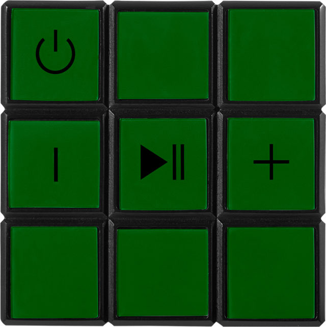 Enceinte sans fil portable Rubik's® BT17RUBIKS – Visuel