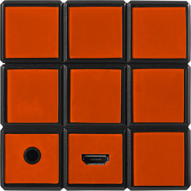 Enceinte sans fil portable Rubik's® BT17RUBIKS – Visuel#1