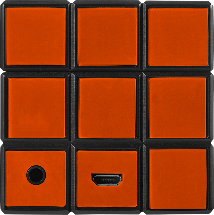 Enceinte sans fil portable Rubik's® BT17RUBIKS - Visuel#1