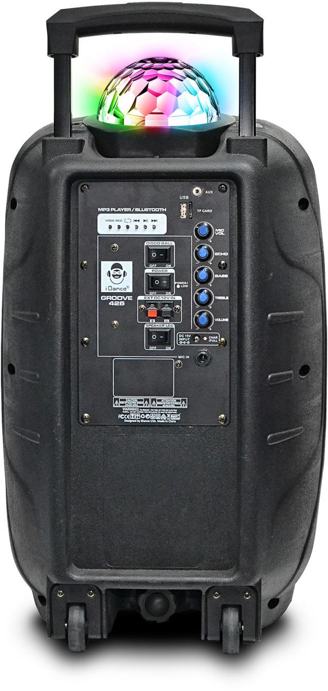 Système Bluetooth sons et lumières GROOVE426 I DANCE – Visuel
