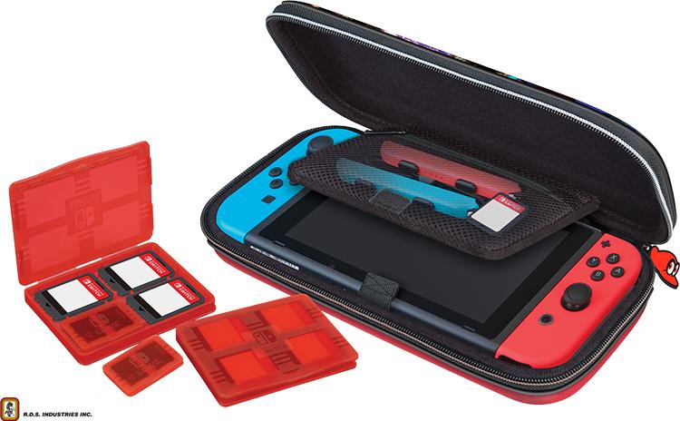 Pochette de transport deluxe officielle RDS™* «Mario Odyssey» pour Nintendo Switch™ –  NNS58 - Visuel